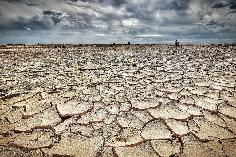 drought in the desert